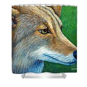 Coyote Logic Shower Curtain