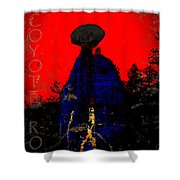 Coyote Rock Shower Curtain