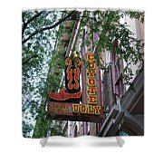 Coyote Ugly Saloon Nashville Shower Curtain