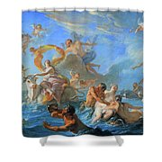 Coypel's The Abduction Of Europa Shower Curtain