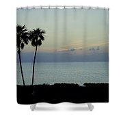 Cozumel Twins Shower Curtain