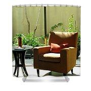 Cozy Corner Shower Curtain