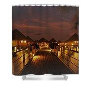 Cozy Cottages  Shower Curtain