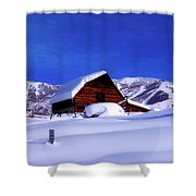 Cozy In Winter Shower Curtain