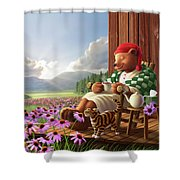 Cozy Porch Shower Curtain