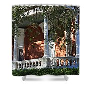 Cozy Savannah Porch Shower Curtain