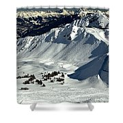 Cpr Ridge Extreme Terrain Shower Curtain