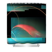 Crab Claw Shower Curtain