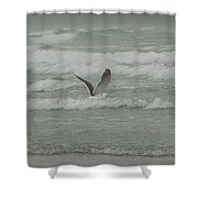 Crab Fishing Shower Curtain