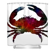 Crab Nebula Shower Curtain by Michael Colgate