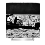 Crabbing On The Pamlico Shower Curtain