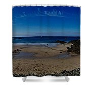 Crabby Bay Shower Curtain
