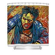 Crabby Joe Shower Curtain