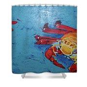 Crabs Shower Curtain