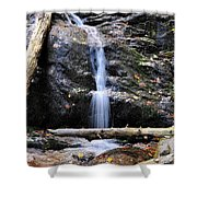 Crabtree Falls In Fall Shower Curtain