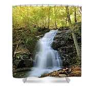 Crabtree Falls In The Fall Shower Curtain