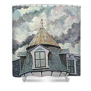 Crack The Sky_reserve Shower Curtain