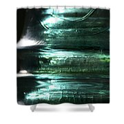 Cracked Glass Shower Curtain
