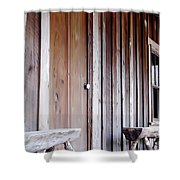 Cracker Front Porch Shower Curtain