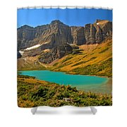 Cracker Lake Valley Shower Curtain
