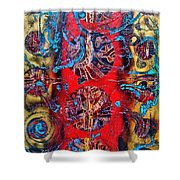 Cracking The Code Of The Universe Shower Curtain