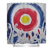 Cracks In The Universe Shower Curtain