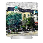 Cracow Art 2 Wawel Shower Curtain