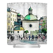 Cracow Art 3 Shower Curtain