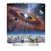 Cradle Of Life Shower Curtain