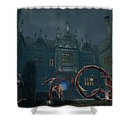 Cradle Of Links Vr Shower Curtain