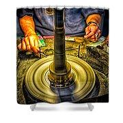 Craftsman Jewelry Maker Shower Curtain