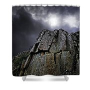 Crags Shower Curtain