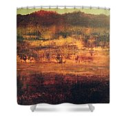 Cranberry Fields In November Shower Curtain
