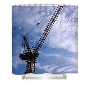 Crane Bk Shower Curtain
