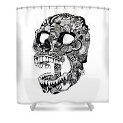 Craneo Shower Curtain