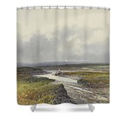 Cranmere Pool, Dartmoor Shower Curtain
