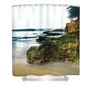 Crash Boat Beach, Pr Shower Curtain