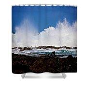 Crash Shower Curtain