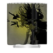 Crash Shower Curtain by Naxart Studio