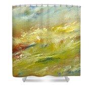 Crash Of Water Shower Curtain