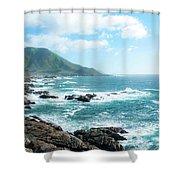 Crashing Coast Shower Curtain
