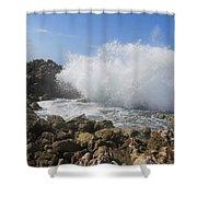 Crashing Wave Shower Curtain