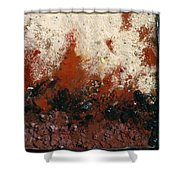 Crater #6 Shower Curtain