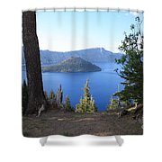 Crater Lake 11 Shower Curtain