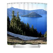 Crater Lake 12 Shower Curtain