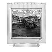 Crater Lake 17 Shower Curtain