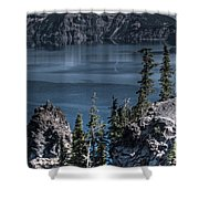 Crater Lake 4 Shower Curtain