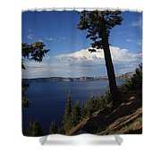 Crater Lake 7 Shower Curtain