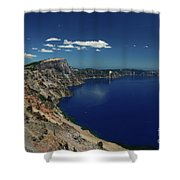 Crater Lake A Caldera Lake  Shower Curtain