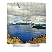 Crater Lake I Shower Curtain